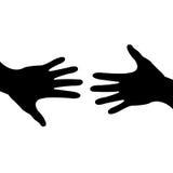 βοήθεια χεριών διανυσματική απεικόνιση