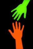 βοήθεια χεριών Στοκ φωτογραφία με δικαίωμα ελεύθερης χρήσης
