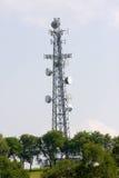 βοήθημα πύργων επικοινωνιών Στοκ φωτογραφία με δικαίωμα ελεύθερης χρήσης