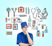 βοηθήστε ιατρικό Στοκ φωτογραφία με δικαίωμα ελεύθερης χρήσης