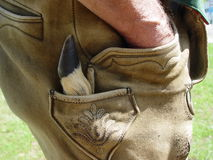 βοηθητικό βαυαρικό κοστούμι στοκ εικόνες