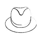 Βοηθητικό εικονίδιο καπέλων διανυσματική απεικόνιση