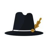 Βοηθητικό διάνυσμα καπέλων διανυσματική απεικόνιση