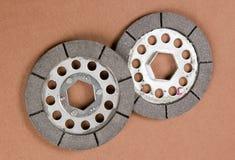 βοηθητικό μέταλλο παλαιά δύο Στοκ Φωτογραφίες