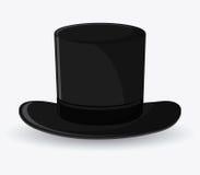 Βοηθητικό σχέδιο τοπ υφασμάτων καπέλων ελεύθερη απεικόνιση δικαιώματος