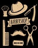 Βοηθητικό σύνολο Barbershop ελεύθερη απεικόνιση δικαιώματος