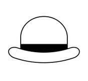 βοηθητικό ύφος hipster καπέλων απεικόνιση αποθεμάτων