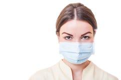 Βοηθός οδοντιάτρων ή νοσοκόμα γιατρών Στοκ εικόνες με δικαίωμα ελεύθερης χρήσης