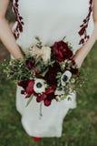 Βοημίας ανθοδέσμη λουλουδιών νυφών Στοκ Εικόνες