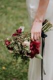 Βοημίας ανθοδέσμη λουλουδιών νυφών Στοκ φωτογραφία με δικαίωμα ελεύθερης χρήσης