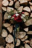 Βοημίας ανθοδέσμη λουλουδιών Στοκ φωτογραφίες με δικαίωμα ελεύθερης χρήσης