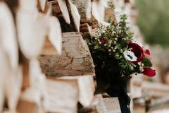 Βοημίας ανθοδέσμη λουλουδιών Στοκ Εικόνες