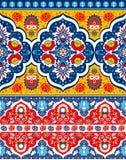 Βοημίας ινδική τυπωμένη ύλη Mandala Εκλεκτής ποιότητας Henna ύφος δερματοστιξιών Στοκ φωτογραφία με δικαίωμα ελεύθερης χρήσης