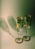 Βοημίας christal γυαλιά champaigne Στοκ φωτογραφίες με δικαίωμα ελεύθερης χρήσης