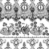 Βοημίας floral ύφος τσιγγάνων ανασκόπησης Στοκ φωτογραφίες με δικαίωμα ελεύθερης χρήσης