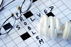 βολβών γυαλιών πρόβλημα π&omicro Στοκ Εικόνες