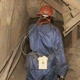 Βολιβία που εισάγει τα potos ανθρακωρύχων ορυχείων Στοκ εικόνα με δικαίωμα ελεύθερης χρήσης