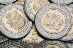 βολιβιανό νόμισμα νέο Στοκ Εικόνα