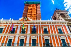 Βολιβιανό παλάτι της κυβέρνησης - Palacio Quemado - στο Λα Παζ Στοκ Εικόνες
