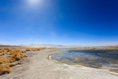 Βολιβιανό τοπίο λιμνοθαλασσών, Βολιβία Στοκ φωτογραφίες με δικαίωμα ελεύθερης χρήσης