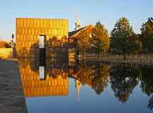βομβαρδίζοντας μνημείο Οκλαχόμα πόλεων Στοκ Εικόνα