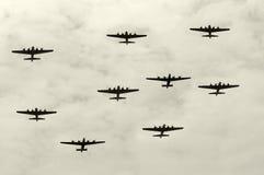 βομβαρδιστικά αεροπλάν&alpha Στοκ φωτογραφίες με δικαίωμα ελεύθερης χρήσης