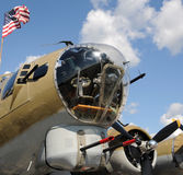 βομβαρδιστικό αεροπλάνο παλαιό στοκ φωτογραφίες