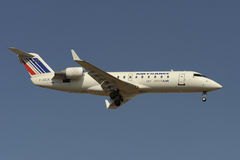 Βομβαρδιστικό CRJ100R στοκ εικόνες