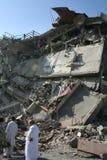Βομβαρδισμός ξενοδοχείων του Πακιστάν Στοκ Εικόνα