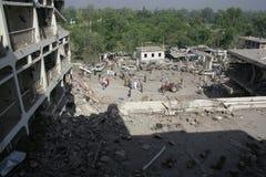 Βομβαρδισμός ξενοδοχείων του Πακιστάν στοκ φωτογραφίες με δικαίωμα ελεύθερης χρήσης