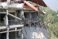 Βομβαρδισμός ξενοδοχείων του Πακιστάν Στοκ εικόνες με δικαίωμα ελεύθερης χρήσης