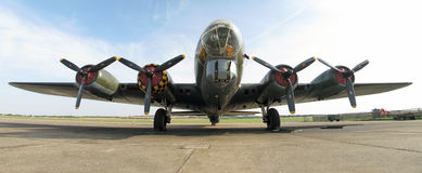 Βομβαρδιστικό αεροπλάνο β-17 Μέμφιδα Belle Στοκ εικόνες με δικαίωμα ελεύθερης χρήσης