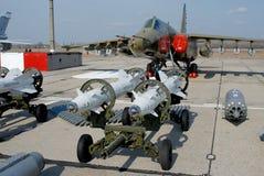 Βομβαρδιστικό αεροπλάνο όπλων Στοκ φωτογραφία με δικαίωμα ελεύθερης χρήσης