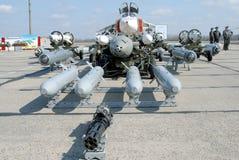 Βομβαρδιστικό αεροπλάνο όπλων Στοκ Φωτογραφία