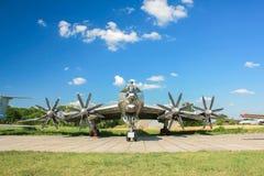 Βομβαρδιστικό αεροπλάνο Tupolev TU-142 Στοκ Φωτογραφία