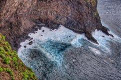 Βορειοδυτική ακτή Tenerife, κανάρια νησιά Στοκ Εικόνα