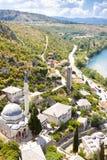 Βοσνία-Ερζεγοβίνη - Pocitelj. Στοκ Εικόνα