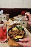 Βοσνιακά τρόφιμα στοκ φωτογραφίες με δικαίωμα ελεύθερης χρήσης
