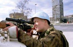 ΒΟΣΝΙΑΚΟΣ ΕΜΦΥΛΙΟΣ ΠΟΛΕΜΟΣ Στοκ φωτογραφία με δικαίωμα ελεύθερης χρήσης