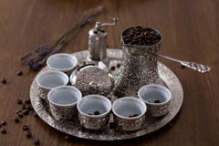 βοσνιακός καφές στοκ εικόνες