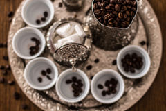 βοσνιακός καφές στοκ εικόνα με δικαίωμα ελεύθερης χρήσης