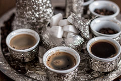 βοσνιακός καφές στοκ φωτογραφία