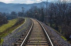 Βοσνιακός σιδηρόδρομος Στοκ Εικόνα