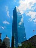 Βοστώνη που χτίζει hancock John ΗΠΑ Στοκ φωτογραφία με δικαίωμα ελεύθερης χρήσης