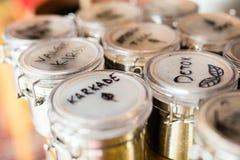 Βοτανικά τσάγια Στοκ Εικόνες