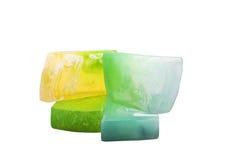 βοτανικά φυσικά σαπούνια Στοκ Εικόνες