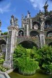Βοτανικοί κήποι, παλάτι Borromeo, bella Isola στοκ εικόνα