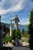 Βοτανικοί κήποι, παλάτι Borromeo, bella Isola στοκ φωτογραφίες