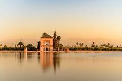 Βοτανικοί κήποι που βρίσκονται στο δυτικό τμήμα του Μαρακές, Μαρόκο, κοντά στα βουνά ατλάντων στοκ εικόνες με δικαίωμα ελεύθερης χρήσης