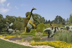 Βοτανικοί κήποι Monreal. Στοκ εικόνα με δικαίωμα ελεύθερης χρήσης